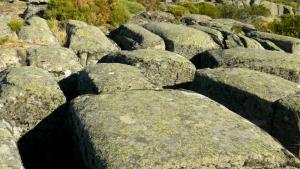 formaciõs graníticas na nascente do Coa